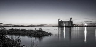 collingwood waterfront grain elevator